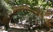 Πέτρινο Γεφύρι Στην Έξοδο Του Φαραγγιού Του Σηρικαρίου